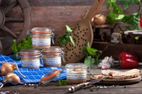 Enten-Terrine mit Calvados