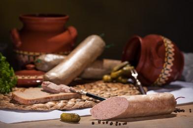Grobe Hausmacher Leberwurst