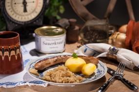 Omas hausgemachtes Sauerkraut